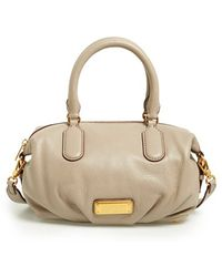 Marc By Marc Jacobs 'New Q - Small Legend' Pebbled Leather Satchel - Lyst