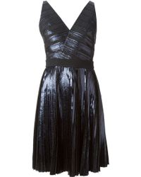 Proenza Schouler Wrap-Style Sleeveless Dress - Lyst