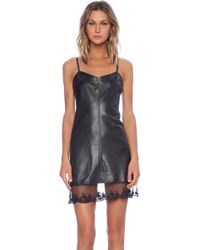 Love Leather The Slip Dress - Lyst