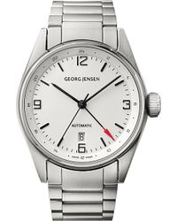 Georg Jensen - Delta Classic Stainless Steel Watch 42mm - Lyst