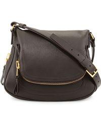 Tom Ford Jennifer Medium Calfskin Shoulder Bag - Lyst