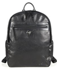 Giuseppe Zanotti Lindos Textured Leather Backpack - Lyst