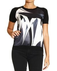 Emilio Pucci Sweater Short Sleeve with Print Astana Silk - Lyst