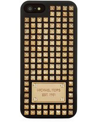 MICHAEL Michael Kors Studded Iphone 5 Cover - Lyst
