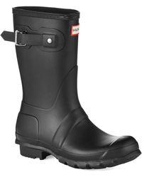 Hunter Original Short Boots - Lyst
