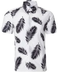 Ovadia And Sons Short Sleeve Camp Shirt - Lyst