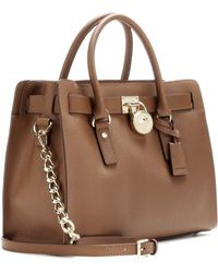 Michael by Michael Kors Hamilton Leather Tote - Lyst
