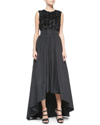 ESCADA High-Low Full Ball Skirt - Lyst