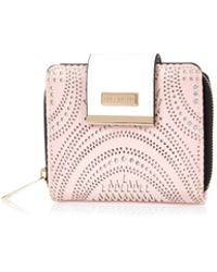 River Island Pink Laser Cut Square Purse pink - Lyst