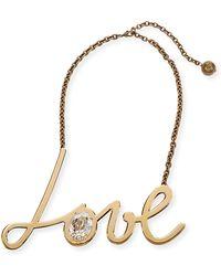 Lanvin - Natu Long Tassel Necklace - Lyst