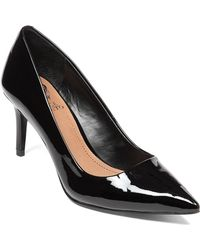 Vince Camuto Cassina Patent Leather Pumps - Lyst