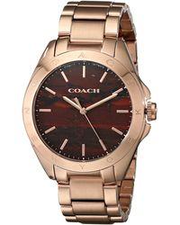 Coach Tristen Precious Stone Dial Bracelet Watch - Lyst