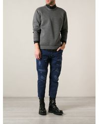 DSquared2 Distressed Jeans - Lyst