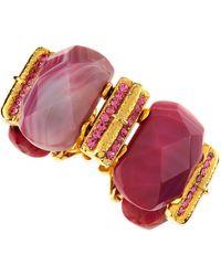 Jose & Maria Barrera Big Stone Bracelet - Lyst