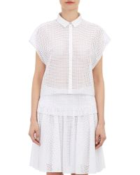 Rag & Bone White Lakewood Shirt - Lyst