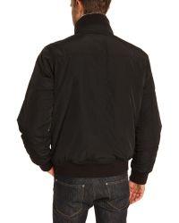 Tommy Hilfiger Ken Black Jacket and Removable Fur Hood - Lyst
