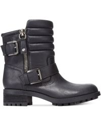 Rampage Fable Moto Booties - Lyst