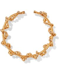 Paula Mendoza - Tree Gold-plated Choker - Lyst