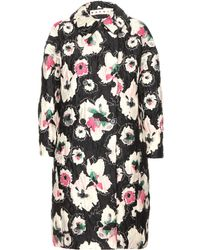 Marni Quilted Cocoon Coat - Lyst