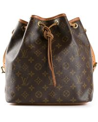 Louis Vuitton Monogram Petite Bucket Bag - Lyst