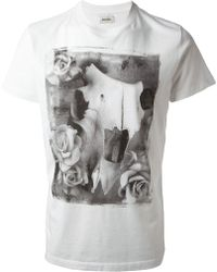 Diesel Graphic Print Tshirt - Lyst