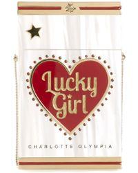 Charlotte Olympia 'Smokin'' Clutch - Lyst