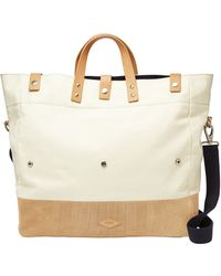 Fossil Foldover Tote - Lyst