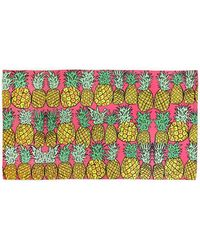 Anna Coroneo - Pineapples Classic Voile Pareo - Lyst