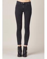 Acne   Used Black Skin 5 Jeans   Lyst