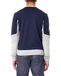 Tim Coppens - Colour-Block Zip Sweatshirt - Lyst