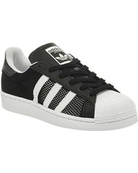 Adidas Superstar 1 Leather Trainers - For Men - Lyst