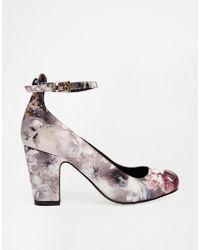 Asos Purple Seville Heels - Lyst