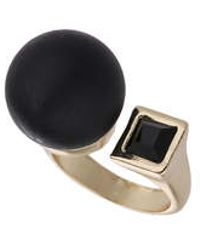 TOPSHOP - Cube And Ball Ring - Lyst