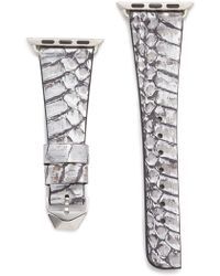 Rebecca Minkoff - Snakeskin 38mm Apple Watch Band - Lyst