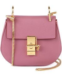 chloe pink bag