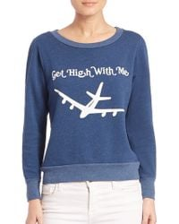 Wildfox | Graphic Slogan Sweatshirt | Lyst