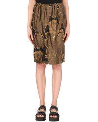 Dries Van Noten Simoni Floral-Jacquard Skirt - For Women - Lyst