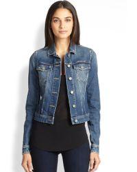 Paige Vermont Denim Jacket - Lyst