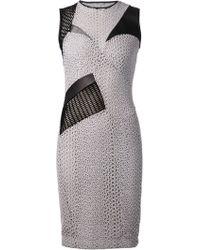 Yigal Azrouel Cutout Dress - Lyst