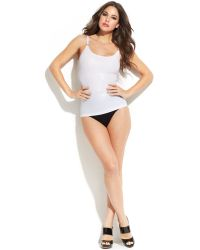 Spanx Light Control Silver Screen Camisole Ss4215 - Lyst