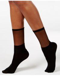 Vince Camuto - Women's Sheer Block Trouser Socks - Lyst