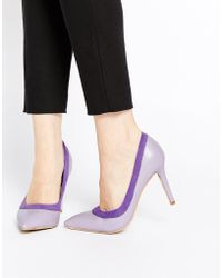 AX Paris - Marly Heeled Court Shoes - Lyst