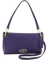 Coach Mini-Charley-Bag purple - Lyst