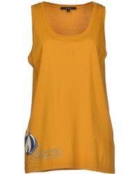 Gucci Yellow T-shirt - Lyst