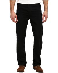 Calvin Klein Jeans Relaxed Straight in Worn in Black - Lyst