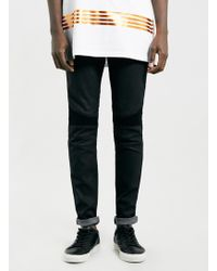 Lac Selected Homme Skinny Fit Bk Jeans - Lyst