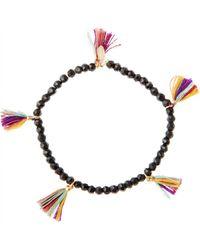 Shashi Dina Beaded Bracelet - Lyst