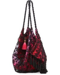 6 Shore Road By Pooja - Sunset Lace Beach Bag - Lyst