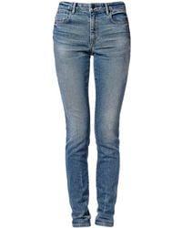 Alexander Wang Medium Indigo Fade Slim Jean blue - Lyst