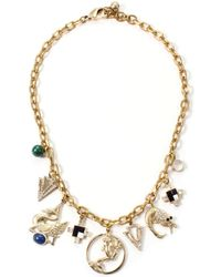 Lulu Frost Allegory Charm Necklace - Lyst